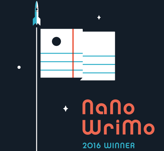 NaNoWriMo 2016 Winner!