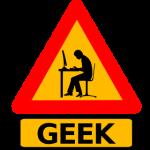 Geek Warning Label