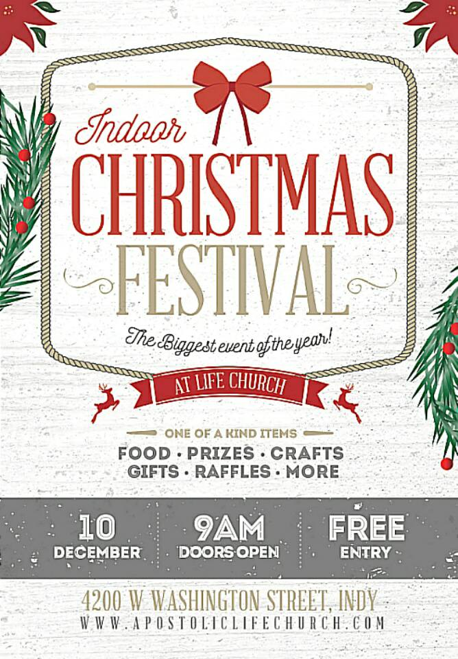 Indoor Christmas Festival at Life Church